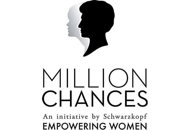 Logo de la iniciativa solidaria Million Chances de Schwarzkopf