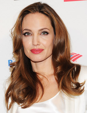 Power-Frisuren: Angelina Jolie