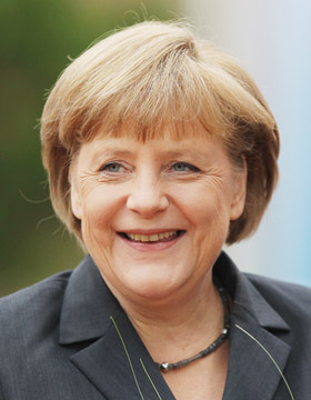Power-Frisuren: Angela Merkel