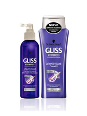Gliss Ultimate Volume  - 0% Siliconas-